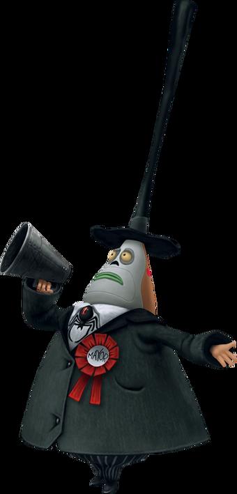 The Mayor Kingdom Hearts Wiki Fandom Nightmare before christmas mayor mini head knocker new nos box neca. the mayor kingdom hearts wiki fandom
