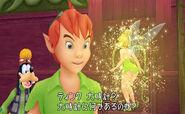 Goofy Peter Pan Tinker Bell