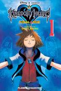 Cubierta KH1 FM volumen 1 manga