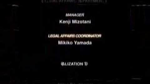 Kingdom Hearts Credits & Epilogue
