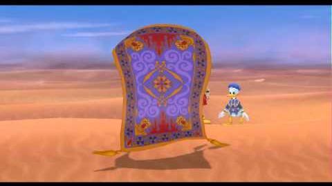 Let's play Kingdom Hearts Final Mix Parte 18 - Llegando a Agrabah