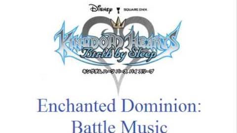 KH Birth By Sleep - Enchanted Dominion Battle Music (Blue.Nocturne)