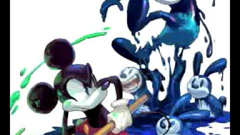 Epic Mickey OST Lonesome Manor Battle