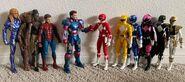 Shin Avengers + Zyurangers + Kibaranger