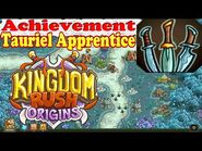 Kingdom Rush Origins - Achievement Tauriel Apprentice - Make 600 Blade Dance moves