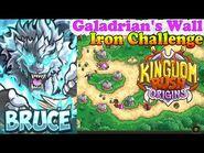 Kingdom Rush Origins HD - Galadrian's Wall Iron (Level 16) Hero Bruce