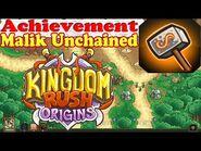 Kingdom Rush Origins - Secrets Achievement Malik Unchained - Help Malik escape