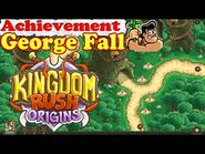 Kingdom Rush Origins HD - Secrets Achievement George Fall - Find George