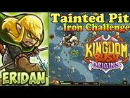 Kingdom Rush Origins HD - Tainted Pit Iron (Level 18) Hero Eridan Bolverk