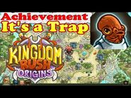 Kingdom Rush Origins - Achievement It's a Trap! - Prevent Mactans from webbing at least 8 towers