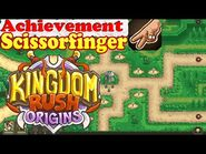 Kingdom Rush Origins HD - Secrets Achievement Scissorfinger - Find the matching bushes