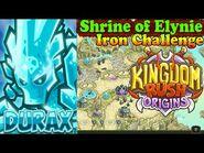 Kingdom Rush Origins HD - Shrine of Elynie Iron (Level 15) Hero Durax