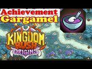 Kingdom Rush Origins - Secrets Achievement Gargamel - Squish 10 gnomes