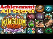 Kingdom Rush Origins - All Hidden Secret Achievements