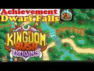 Kingdom Rush Origins HD - Secrets Achievement Dwarf Falls - Save 13 barrelled dwarves