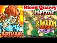 Kingdom Rush Origins HD - Blood Quarry Heroic (Level 19) Hero Arivan