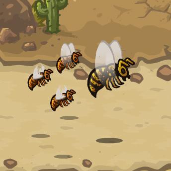 Giant Wasp Queen