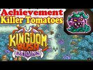 Kingdom Rush Origins - Achievement Killer Tomatoes! - Defeat 500 enemies with the poison Vines