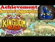 Kingdom Rush Origins - Secrets Achievement Sorcerer's Apprentice - Find the three apprentice relics