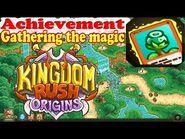 Kingdom Rush Origins - Achievement Gathering the magic - Defeat 80 enemies with the magic Blossoms