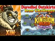 Kingdom Rush Origins HD - Duredhel Outskirts Iron (Level 22) Hero Xin