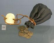 Ancient coin purse