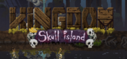 KNL Skull Island logo with Statue