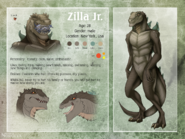 Zilla jr ref commission artist nordeva by fcaiser-d6byyp2