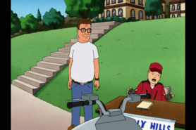 Hank Watches Wichard Beating up Peter Sterling