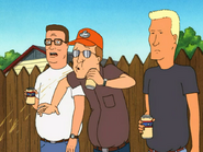 Dale Spitts out His Beer