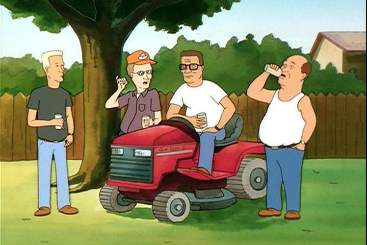 Hank's Lawn Mower