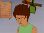 Peggy looks Down