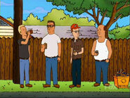 King of the hill alley