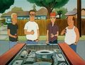 Boomhauer Hank Dale Bill fixing a truck (Pilot)