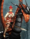 Наездница на драконе