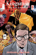 KingsmanTheRedDiamond Issue 6 cover