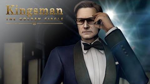 "Kingsman The Golden Circle ""Become A Kingsman"" Mobile Game 20th Century FOX"