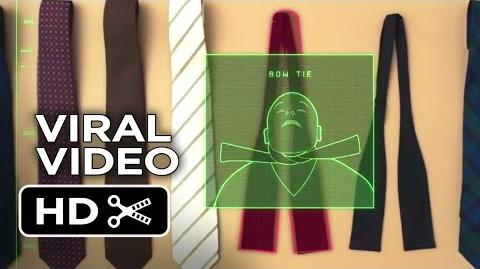 Kingsman The Secret Service VIRAL VIDEO - Tying a Tie (2015) - Michael Caine Movie HD
