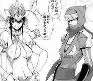 Asura ninja lady