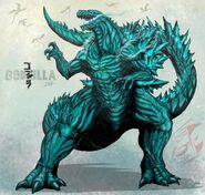 Godzilla 2017 planet g by gabe tke-dbrexb0