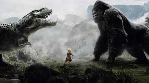 Кинг Конг против Тиранозавра