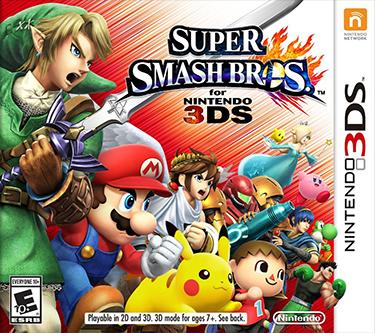 Super Smash Bros. para Nintendo 3DS y Wii U