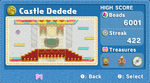 KEY Castle Dedede