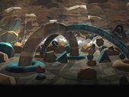 Float Islands Background 2