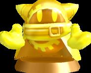 Gold Magolor Statue KDCSE