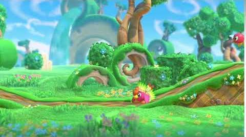 Kirby Star Allies Birdon Showcase