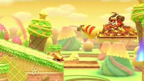 Kirby Star Allies Sir Kibble Showcase