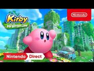 Kirby and the Forgotten Land – Announcement Trailer – Nintendo Switch