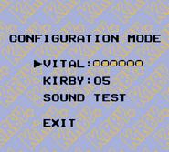 KDL Configuration Mode