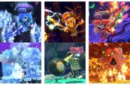 Kirby Star Allies' Bosses